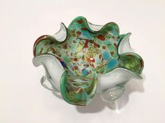 Your place to buy and sell all things handmade Modern Glass, Mid-century Modern, Murano Glass, Barware, Glass Art, Vibrant Colors, Mid Century, Sparkle, Shop