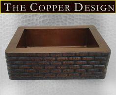 copper apron farmhouse sink