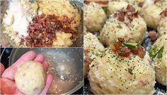Knodel, chiftele germane din cartofi. Cel mai delicios și rapid preparat. Secretul ca să iasă fragede Romanian Food, Tzatziki, Potato Salad, Mashed Potatoes, Mai, Breakfast, Ethnic Recipes, Floral, Salads