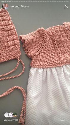 Crochet Stitches, Knit Crochet, Baby Knitting, Crochet Projects, Dress Skirt, Knitted Hats, Needlework, Knitting Patterns, Winter Hats
