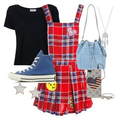 """""""#273"""" by nattiexo ❤ liked on Polyvore featuring Frame Denim, Sans Souci, Converse, Michael Kors, Lucky Brand, PacSun and Givenchy"""