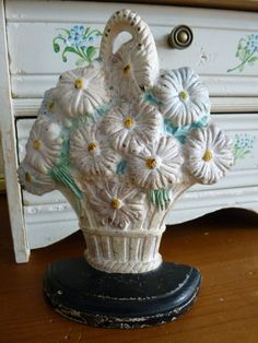 Hubley Cast Iron Victorian Door Stop by paprikarose on Etsy