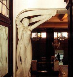 Kino Flora Art Nouveau Architecture, Most Beautiful Cities, Czech Republic, Flora, Cinema, Statue, Travel, Prague, Movies