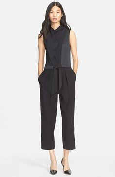 3.1 Phillip Lim Sleeveless Jumpsuit available at #Nordstrom