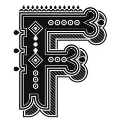 Typography - Illustred Alphabet by Jonny Wan - Letter F Different Lettering, Types Of Lettering, Lettering Design, Hand Lettering, Typography Quotes, Typography Letters, Fly Logo, Calligraphy Types, Drop Cap