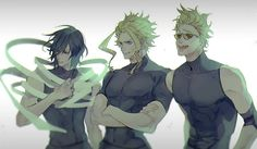 Boku no Hero Academia, Present Mic, Aizawa Shouta, All Might, Toshinori Yagi