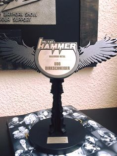 """DIRKSCHNEIDER: Won Metal Hammer Award! / AFM Records  Last Friday Udo Dirkschneider received the """"MAXIMUM METAL"""" Award from the leading german metal mag METAL HAMMER! Udo wants to thank everybody for this award which is something very special since only stars like James Hetfield have received it so far.  """"It´s a great honor to receive such an award. And despite this award sounds like a lifetime achievement I want to let you know that we are far away from an end of my activities."""