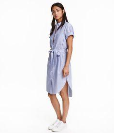 Blusenkleid | Blau/Gestreift | Ladies | H&M DE