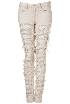 MOTO EXTREME RIPPED JEANS
