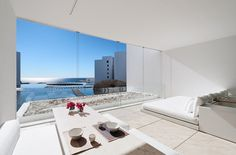 15 Pictures Of The Most White Minimalist Hotel You Will Ever See - Architecture http://thearchitectureclub.com/architecture/15-pictures-of-the-most-white-minimalist-hotel-you-will-ever-see?utm_campaign=crowdfire&utm_content=crowdfire&utm_medium=social&utm_source=pinterest