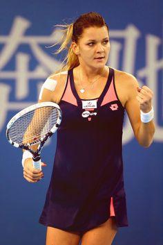 Polish tennis champion Agnieszka Radwanska at the China Open 2013 #WTA #Radwanska #ChinaOpen