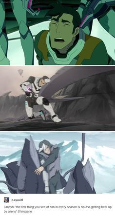 Shiro just can't catch a break...