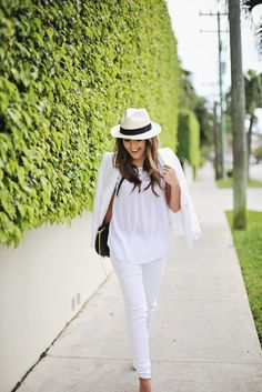 The Freshest Ways to Pull Off an All-White Outfit This Spring