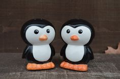 Chilly Penguin Ceramic Salt and Pepper Shakers