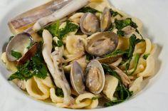 Appunti di cucina di Rimmel: Orecchiette frutti di mare e friarielli