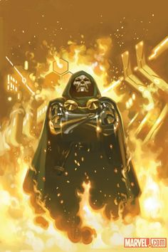 Doctor Doom by Daniel Acuna *