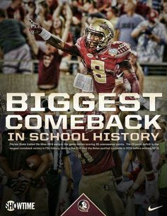 FSU [#4] vs. Ole Miss [#11] | Greatest Comeback in School History | Orlando, FL | Sept. 5, 2016 | FSU-45 Ole Miss-34