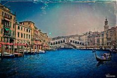 Venice Postcard. Venice, Italy. Artwork by Chiara Salvadori.