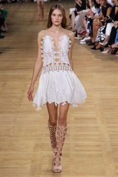 Whimsical once again... Chloe SS 15
