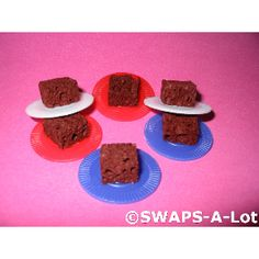 Brownie on a plate Swaps