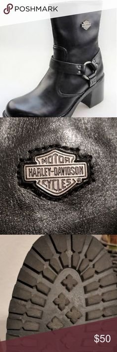 Harley-davidson Pavement Harness riding boots Authentic Harley Davidson riding boots. Like new, used once Harley-Davidson Shoes