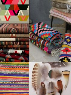 tribal nomad ikat pattern pring boho aztec native feather print fashion pattern background moodboard magaizne cool design art tumblr style rug urban outfitters trend 2015 summer