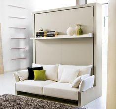 Гостиная Clei, Nuovoliola' 10 с компьютерным столом и откидной кроватью