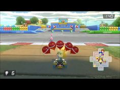 Mario Kart 8 Deluxe: Bob-Omb Blast on SNES Battle Course 1 Gameplay - YouTube