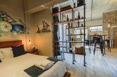 Stylish,Industrial-Chic Apartment: 5 Swift Studios - Apartamentos para Alugar em Cidade do Cabo, Cabo Ocidental, África do Sul