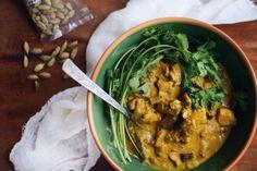 Kreolské curry • CukrFree.cz