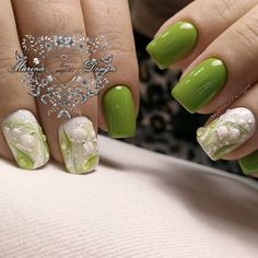 Cute Green Nail Designs picture 1
