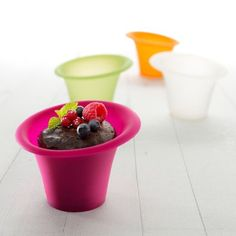 Lékué Silicone Dessert Cups, Set of 4 | Sur La Table