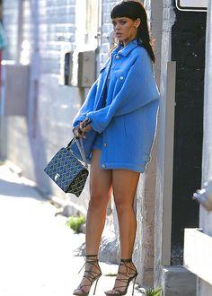 April 1 : Rihanna leaving Jimmy Kimmel Live