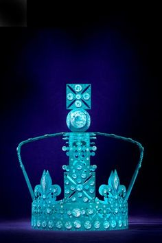 Tiffany. In honor of the upcoming Queen's Jubilee, the famous London department store Harrod's asked top fashion labels to envision an updated version of the Queen's royal crown.