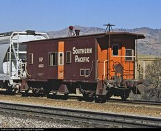 RailPictures.Net Photo: SP 4653 Southern Pacific Railroad Caboose at Bealville, California by Craig Walker