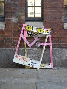 Street Art fotos:art is trash | Flickr - Photo Sharing!