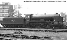 Nine Elms Locomotive Shed - Barry Lewis photos Southern Trains, Heathrow Airport, Beer Label, Steam Locomotive, Schools, Pictures, Photos, Shed, Engineering