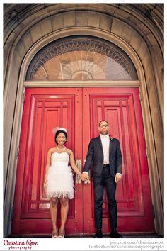 Red Door, Wedding Portraits, Architectural elements, church