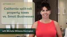As legislators try their best to get around Prop. 13 to set up a split-roll property tax system. Commercial properties could end up seeing tax increases that would be another nail in the coffin California's small businesses.