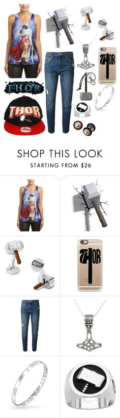 """Fandom-Marvel-Thor"" by maile-estacion ❤ liked on Polyvore featuring Bear Dance, Marvel, Cufflinks, Inc., Casetify, Étoile Isabel Marant, Carolina Glamour Collection and Bling Jewelry"