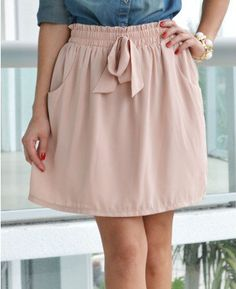 #loveshoppingmiami.com    #Skirt                    #Dania #Light #Rose #Front #Skirt                   Dania Light Rose Bow Front Skirt                                              http://www.seapai.com/product.aspx?PID=408831
