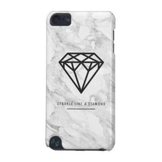 #stylish - #Diamond with Marble iPod Touch 5G Cover