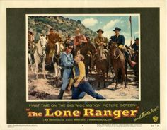 Movie Friday: Vintage 'Lone Ranger' Advertisements