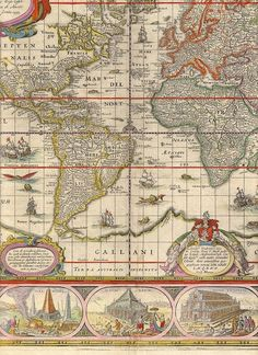 Historical maps antique world map map old world by mapsandposters blaeu world 8 antique mapsantique booksold gumiabroncs Gallery