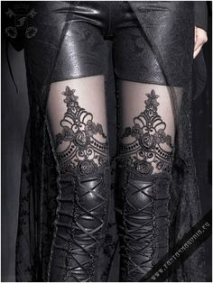 Macbeth leggings | Fantasmagoria.eu - Gothic Fashion boutique