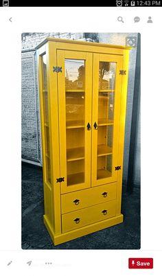 Linen or curio cabinet