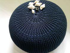 Pufa-siedzisko robiona na drutach