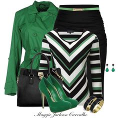 """Chevron Print"" by maggie-jackson-carvalho on Polyvore"
