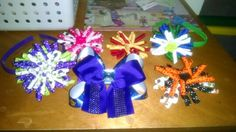 Curly headbands $2.00  Curly bows $2.00  Frozen bow $3.00