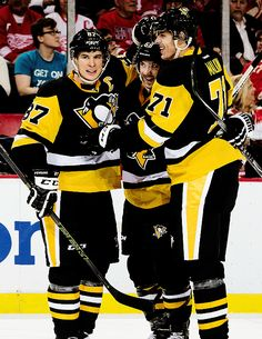 sidney crosby, kris letang + evgeni malkin | pittsburgh penguins hockey #nhl